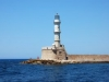 The lighthouse Chania
