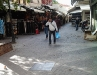 Leather lane in Chania