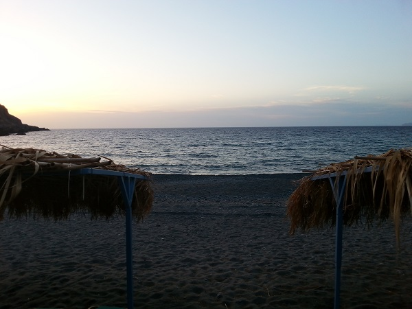 The Beach at Sfinari.
